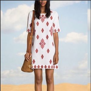 Michael Kors cotton embroidered dress size 6
